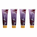 Dark Cherry Orchid by Bodycology, 4 Pack 8 oz Moisturizing Body Cream for Women