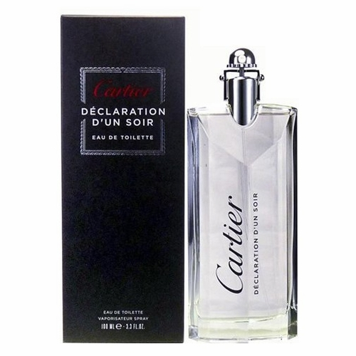 Declaration d'Un Soir by Cartier, 3.4 oz Eau De Toilette Spray for Men