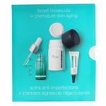 Dermalogica Clear & Brighten Kit: Daily Microfoliant 13g+ Age Bright Clearing Serum 10ml+ Age Bright Spot Fader 6ml  3pcs
