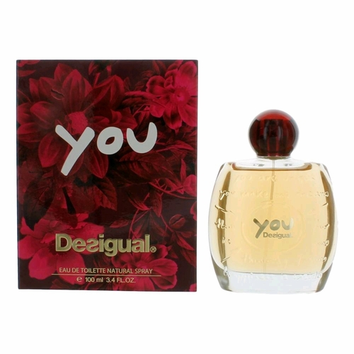 Desigual You by Desigual, 3.3 oz Eau De Toilette Spray for Women