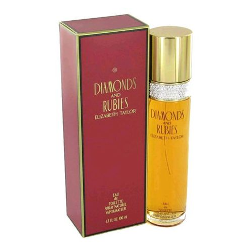 Diamonds & Rubies by Elizabeth Taylor, 3.3 oz Eau De Toilette Spray for Women