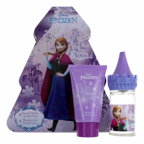 Disney Frozen Anna Castle by Disney, 2 Piece Tin Gift Set for Girls
