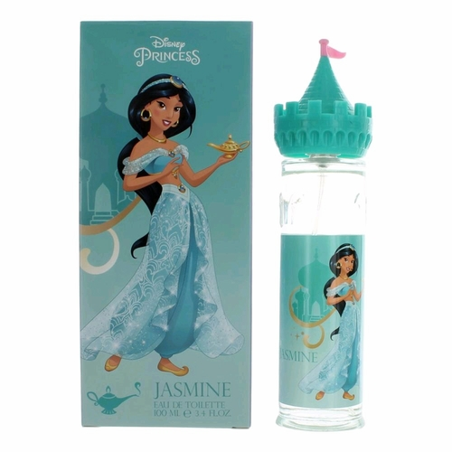 Disney Jasmin Castle by Disney Princess, 3.4 oz Eau De Toilette Spray for Girls