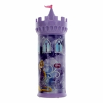 Disney Rapunzel Castle by Disney Princess, 11.9 oz Bubble Bath for Girls