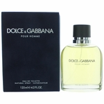 Dolce & Gabbana by Dolce & Gabbana, 4.2 oz Eau De Toilette Spray for Men