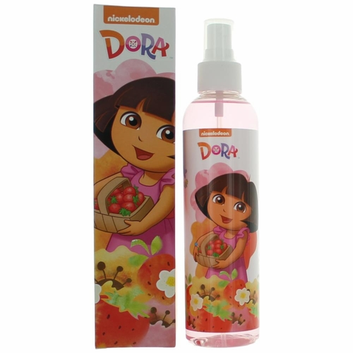 Dora The Explorer Strawberry Sparkle by Marmol & Son, 8 oz Body Spray for Girls