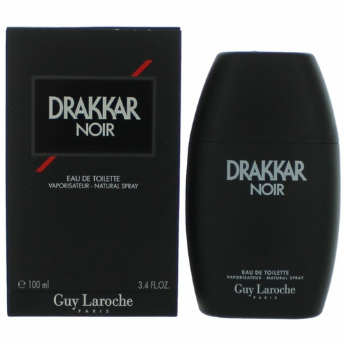 Drakkar Noir by Guy Laroche, 3.4 oz Eau De Toilette Spray for Men