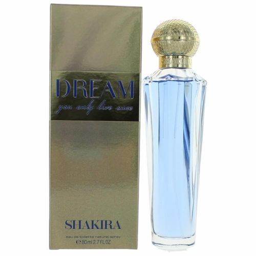 Dream by Shakira, 2.7 oz Eau De Toilette Spray for Women