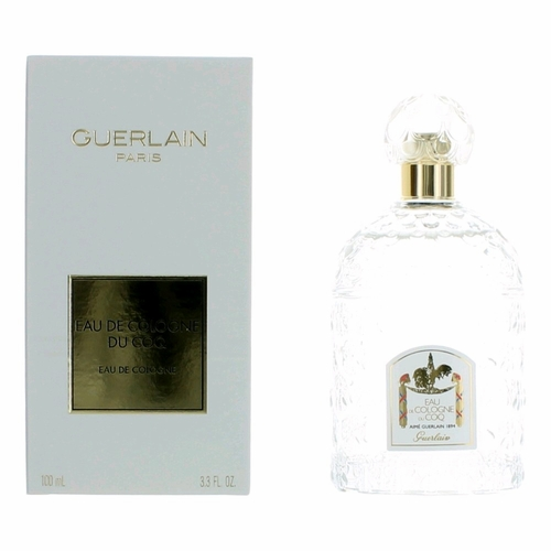 Du Coq by Guerlain, 3.3 oz Eau De Cologne Spray Unisex