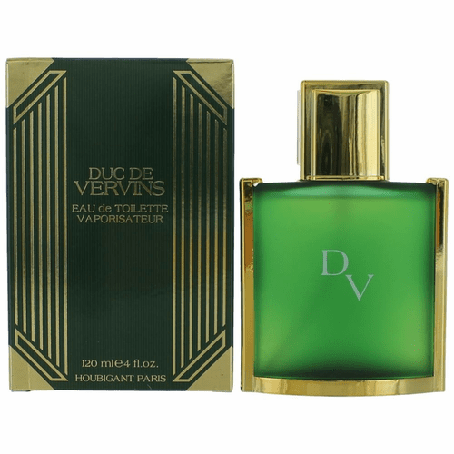 Duc De Vervins by Houbigant, 4 oz Eau De Toilette Spray for Men