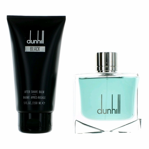 Dunhill Black by Alfred Dunhill, 2 Piece Gift Set for Men