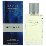 Eau De Rochas by Rochas, 3.4 oz Eau De Toilette Spray for Men