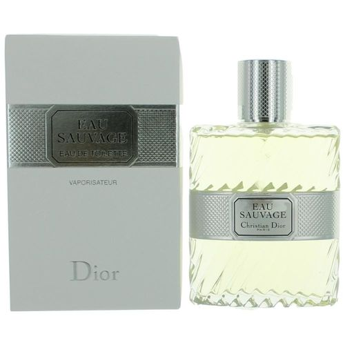 Eau Sauvage by Christian Dior, 3.4 oz Eau De Toilette Spray for Men