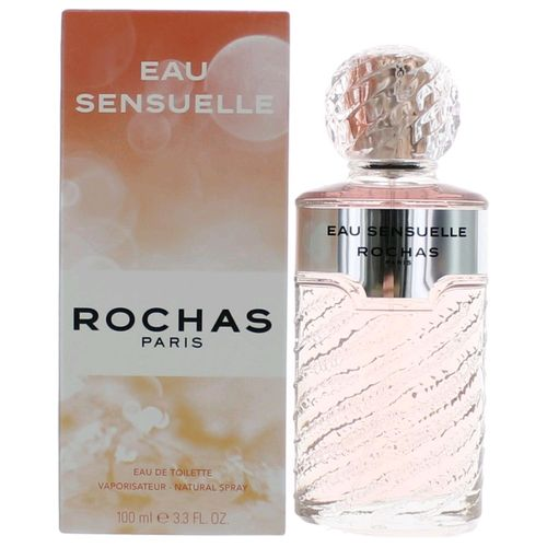 Eau Sensuelle by Rochas, 3.3 oz Eau De Toilette Spray for Women