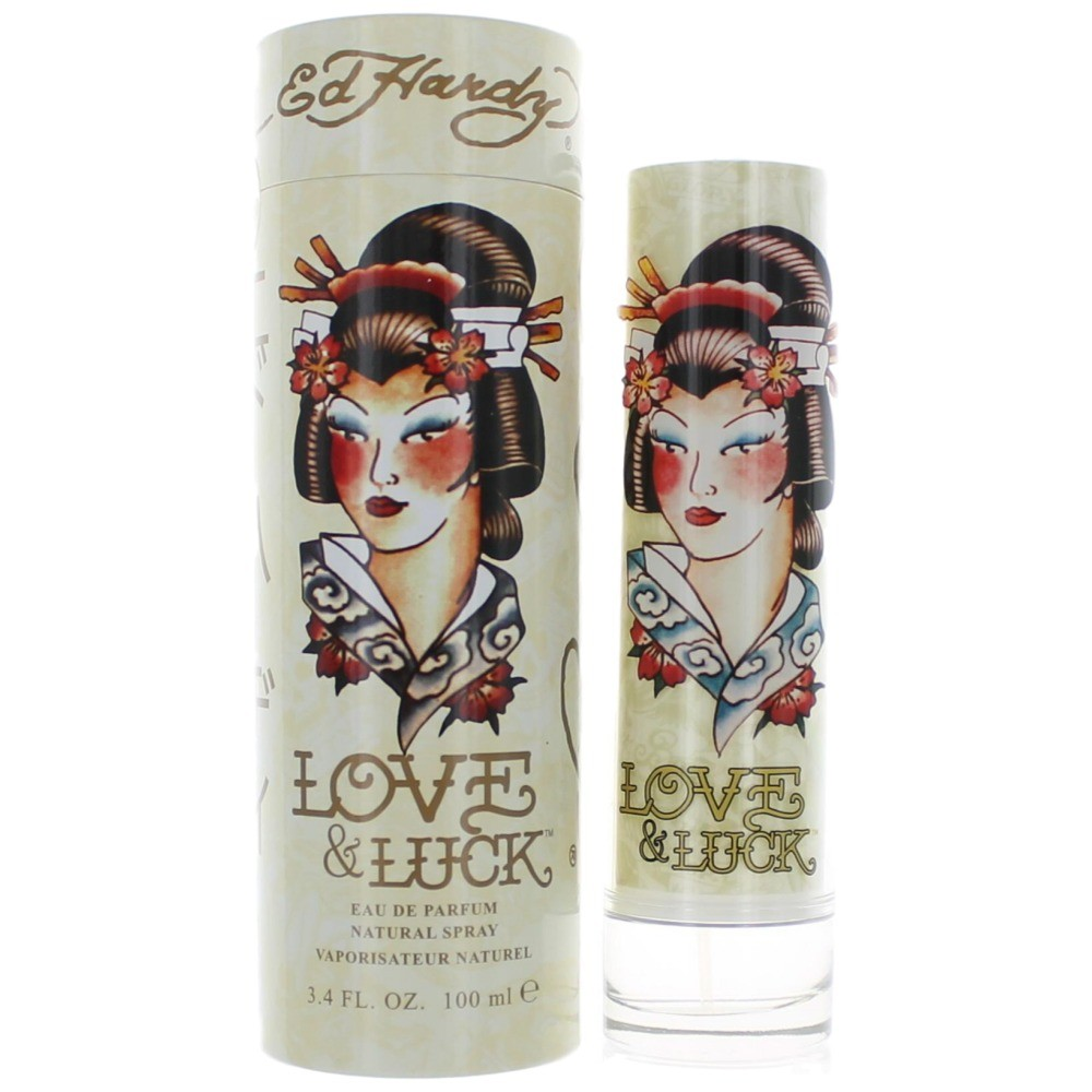 Ed Hardy Love And Luck By Christian Audigier: Ed Hardy Love & Luck Perfume For Women By Christian Audigier - FREE Shipping