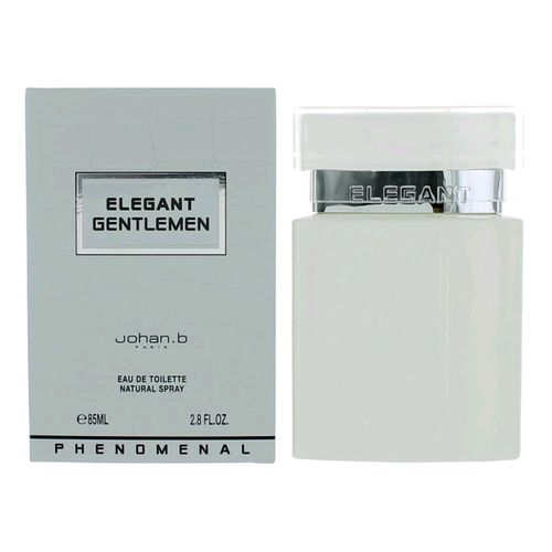 Elegant Gentlemen Phenomenal by Johan.b, 2.8 oz Eau De Toilette Spray for Men
