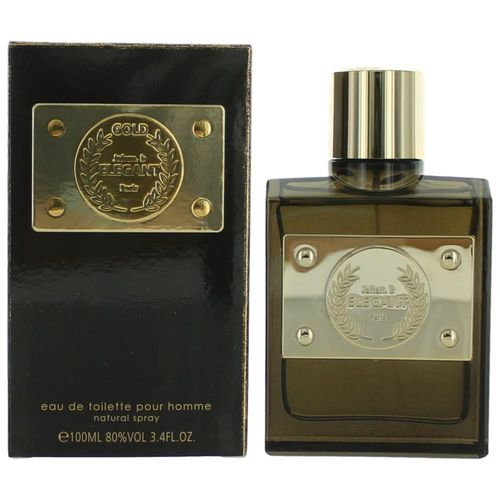 Elegant Gold by Johan.b, 3.4 oz Eau De Toilette Spray for Men