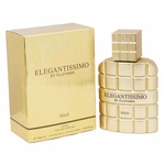 Elegantissimo Gold by Parfum Fujiyama, 3.3 oz Eau De Parfum Spray for Men