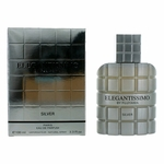 Elegantissimo Silver by Parfum Fujiyama, 3.3 oz Eau De Parfum Spray for Men