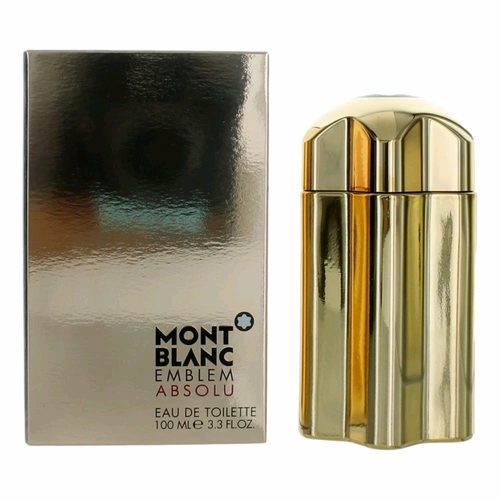 Emblem Absolu by Mont Blanc, 3.4 oz Eau De Toilette Spray for Men