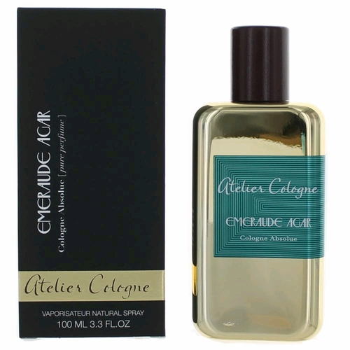 Emeraude Agar by Atelier Cologne, 3.3 oz Cologne Absolue Spray for Unisex