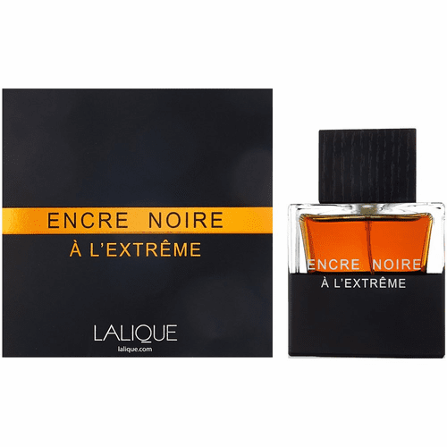 Encre Noire A L'Extreme by Lalique, 3.3 oz Eau De Parfum Spray for Men