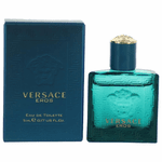 Eros by Versace, 0.17 oz Mini Eau De Toilette Splash for Men