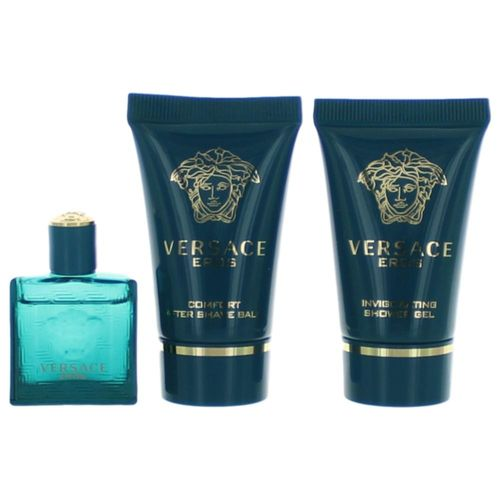 Eros by Versace, 3 Piece Mini Gift Set for Men
