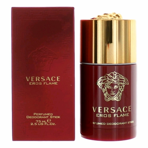 Eros Flame by Versace, 2.5 oz Perfumed Deodorant Stick for Men
