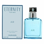 Eternity Air by Calvin Klein, 3.4 oz Eau De Toilette Spray for Men