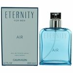 Eternity Air by Calvin Klein, 6.7 oz Eau De Toilette Spray for Men
