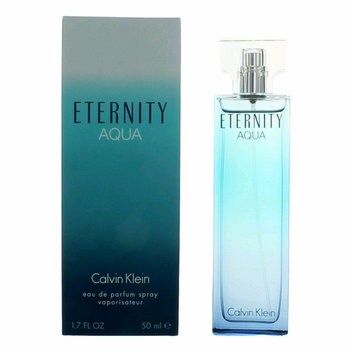 Eternity Aqua by Calvin Klein, 1.7 oz Eau De Parfum Spray for Women
