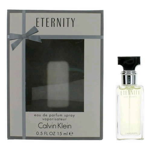 Eternity by Calvin Klein, .5 oz Eau De Parfum Spray for Women