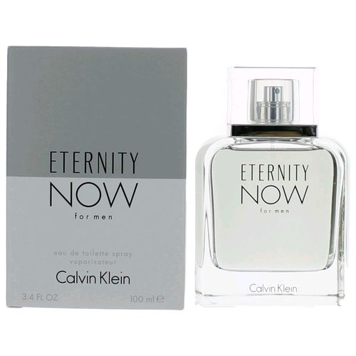 Eternity Now by Calvin Klein, 3.4 oz Eau De Toilette Spray for Men