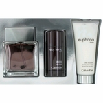 Euphoria by Calvin Klein, 3 Piece Gift Set for Men