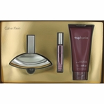 Euphoria by Calvin Klein, 3 Piece Gift Set for Women with Rollerball