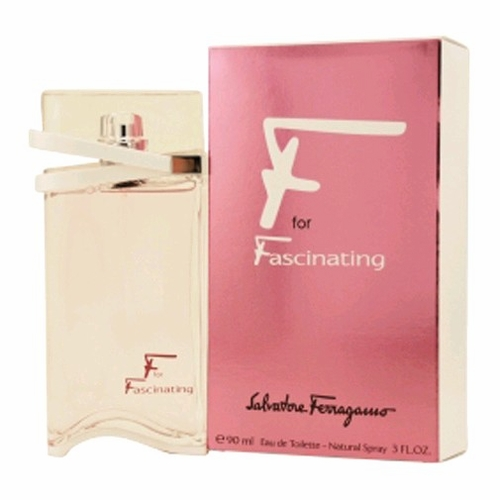 F for Fascinating by Salvatore Ferragamo, 3 oz Eau De Toilette Spray for Women
