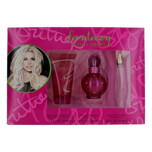 Fantasy by Britney Spears, 3 Piece Gift Set for Women