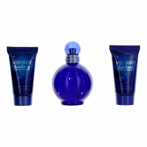Fantasy Midnight by Britney Spears, 3 Piece Gift Set for Women
