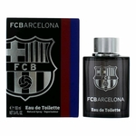 FC Barcelona Black by FC Barcelona, 3.4 oz Eau De Toilette Spray for Men
