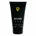 Ferrari Black by Ferrari, 5 oz Hair and Body Wash for Men