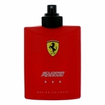 Ferrari Red by Scuderia Ferrari, 4.2 oz Eau De Toilette Spray for Men Tester