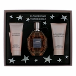 Flowerbomb by Viktor & Rolf, 3 Piece Gift Set for Women