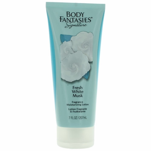 Fresh White Musk by Body Fantasies, 7 oz Body Lotion for Women