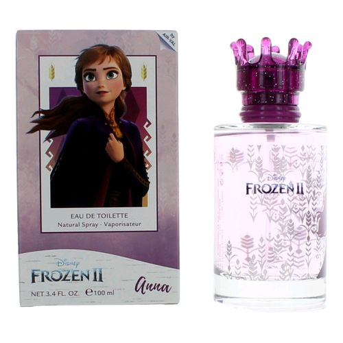 Frozen II Anna by Disney, 3.4 oz Eau De Toilette Spray for Girls