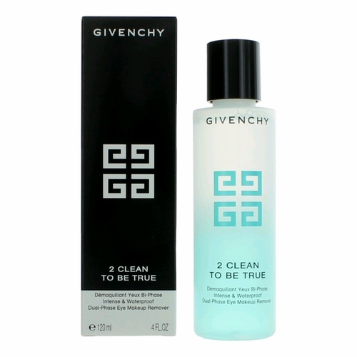 Givenchy 2 Clean To Be True by Givenchy, 4 oz Intense & Waterproof Dual-Phase Eye Makeup Remover