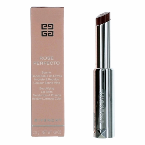 Givenchy Rose Perfecto by Givenchy, .09 oz Plumping Lip Balm Chilling Brown 117