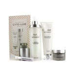 Glotherapeutics Cyto-Luxe Collection (Limited Edition): Body Lotion + Cleanser + Mask + Mask Applicator  4pcs