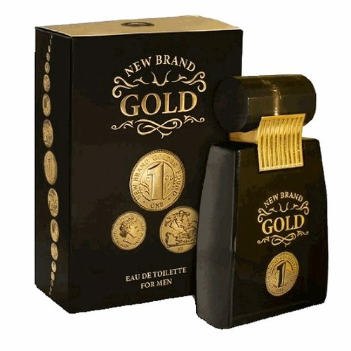 Gold by New Brand, 3.3 oz Eau De Toilette Spray for Men