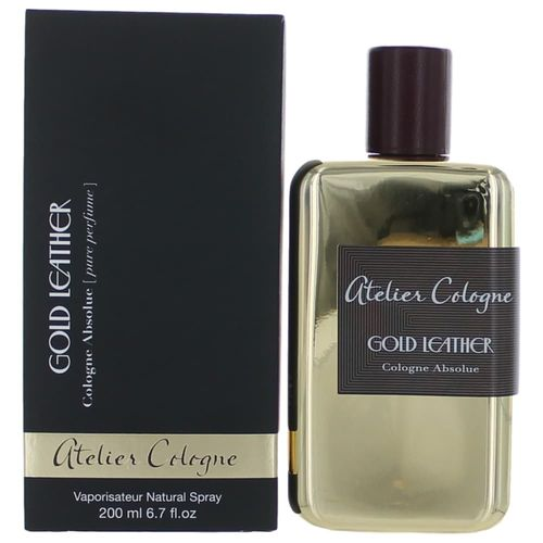 Gold Leather Collection Metal by Atelier Cologne, 6.7 oz Cologne Absolue Spray for Unisex